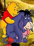 Kanga's succulent breasts bounce as Winnie Pooh gives her tempting twathole a lesson