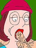 Muriel Goldman gets hardly a foreplay and gets fucked by horny Peter Griffin