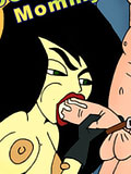 Shego got naked and reaches climax