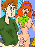 Virgin Daphne Blake gets penetrated and blasted in cum