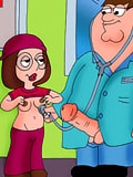Cum crazy Lois with enormous breasts got her hole nailed by Dave's tied dong and takes face load