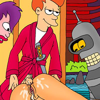 Leela gets hard fondled