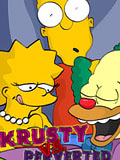 Maggie blows and gets her pussy filled by pervert Krusty the Clown