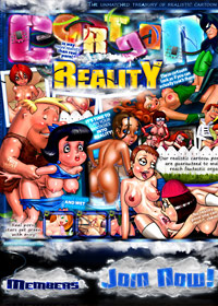 Cartoon Reality Porn