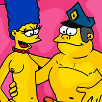 Naked The Simpsons