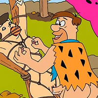 Innocent Wilma Flintstone with incredible body gets fondled by dick and gets off