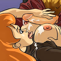 First time lesbian Kim Possible getting her cunt split open and getting fucked over and over