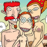 Marianne Thornberry with incredible boobs was bent over by Donnie's dick