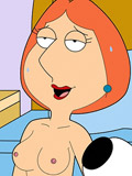 Fantastic Lois Griffin gets naked and gets her hole fucked