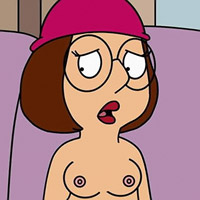 Dizzy Lois Griffin rubs it