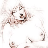 Sensual Gwen Stacy gets her pumped up titties massaged and gets her vagina railed by Richard Parker
