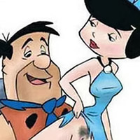 Betty Rubble grab dick